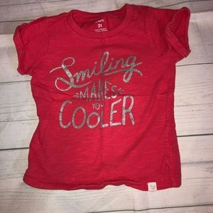 Carter's 2T Short Sleeved Shirt